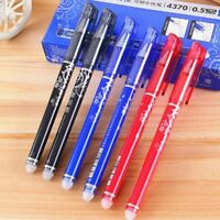 0.5mm Erasable Gel Pen Rollerball Magical Writing Rollerball Stationery TOP