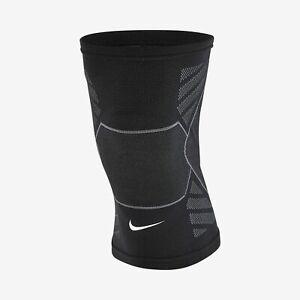 Nike Knit Knee 4-Way Stretch Black Training Compression Sleeve Unisex Size XL