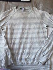 Grey Stripy Jumper La Redoute Size Medium Mens