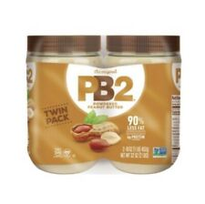 2 X Bell Plantation PB2 Powdered Peanut Butter 2 Pk/16oz Each All-Natural.