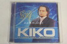 Lo Mas Duro Kiko La Fuerza Tipica El Presidente- RR Production  Music CD