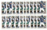 x50 PETE CROW-ARMSTRONG 2020 1st Bowman Draft #72 Rookie Card RC lot/set NY Mets