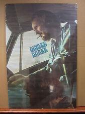 Vintage Ginger Baker poster Cream drummer   5030
