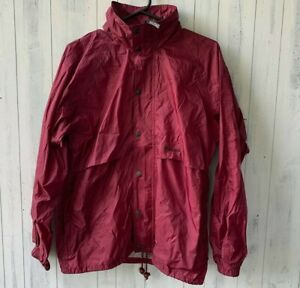 Huski Jacket Windbreaker Nylon Outdoors Waterproof Jacket Size 97 Maroon