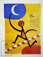 Barcelona 1992 Olympic Games Original Advertising Poster by Peret