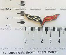 Chevrolet Corvette Impala Camaro Flag Lapel Pin Badge
