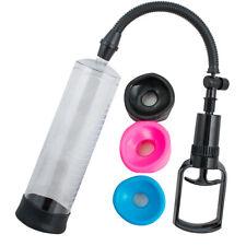 Beginner Penis Enlarger Vacuum Pump Male Enlargement Enhancer Comfort Sleeve Toy