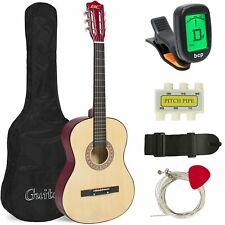 38 in Beginner Acoustic Guitar Musical Instrument Kit w/ Case, Strap, Tuner