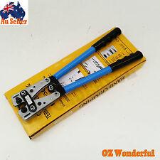 6 - 50 mm² Crimp Tube Terminal Crimping Crimper Tool Battery Cable Lug EPP1083