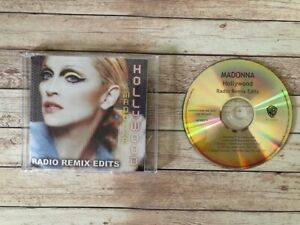 MADONNA - HOLLYWOOD radio remix edit ultra rare PROMO pro CD aussie cdr madame x