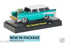 M58 81161 01 M2 MACHINE GROUND POUNDERS 1957 CHEVROLET NOMAD RELEASE 1:64 RARE