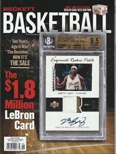Beckett Basketball Price Guide Vol. 31 No. 9 SEPTEMBER 2020 LEBRON JAMES