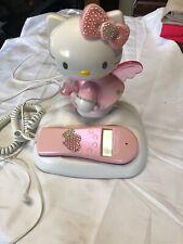 Hello Kitty Pink Home Phone Telephone Little Girl Bedroom