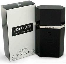 AZZARO SILVER BLACK pour HOMME Cologne 3.4 oz 3.3 New in Box