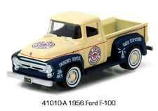 Greenlight Running On Empty 1956 Ford F-100 Pickup.  RED CROWN GASOLINE