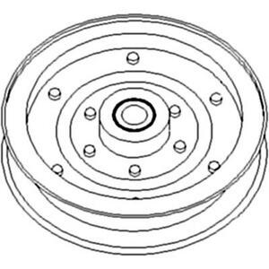HAYBINE IDLER PULLEY Fits New Holland 467 469 472 474 477 478 479 488 489 490 49