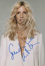 SANDRINE KIBERLAIN autographe signed 20x30 cm image