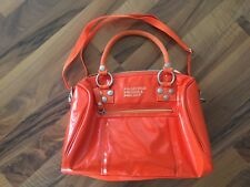 George Gina Lucy Tasche Orange Lack