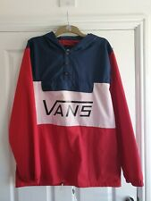 Vans Tricolour Windbreaker Jacket Size Xl