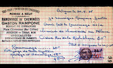 "AVIGNON (84) RAMONNAGE & ENTRETIEN CHAUDIERE ""Gaston RAMPONE"" en 1938"