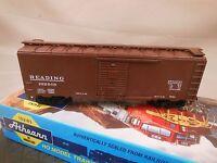 HO SCALE ATHEARN BLUE BOX KIT BUILT 40' BOX CAR READING (6/6)