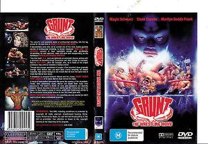 Grunt :The Wrestling Movie DVD Documentary 1985 RARE