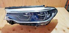 2017 2018 BMW 530i 530e 540i Left Side LED Adaptive Headlight 63-11-7-214-965