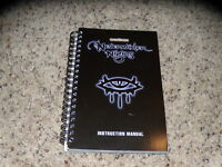 Forgotten Realms Neverwinter Nights PC Manual - No Game