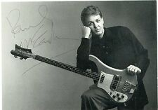 PAUL McCARTNEY Signed MPL Postcard FULL SIGNATURE! Beatles RR Auction LOA