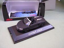 AUDI R8 SPYDER CONCEPT BLACK (NOIR MAT) DE 2012 LIMITEE 1/1000 SCHUCO 1/43