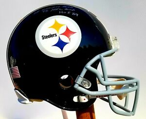 Pittsburgh Steelers Terry Bradshaw Autographed Riddell NFL Authentic F/S Helmet