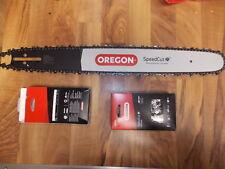 "Oregon 200TXLBK095 20"" SpeedCut bar + 2 chain Combo for Husqvarna 345 346 350"