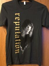 "Taylor Swift.  ""Reputation"".  Black Shirt.   S."