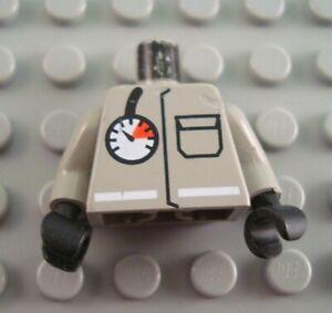 LEGO Light Gray City Fireman Torso Minifigure Body Part