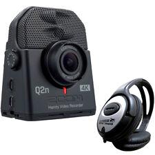Zoom Q2n-4K Handy Audio- und Video-Recorder Ultra HD + keepdrum Kopfhörer