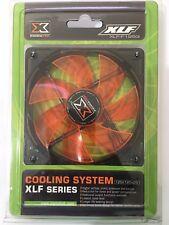 XIGMATEK FCB XLF-F1253 120mm 4 white LED Orange Case