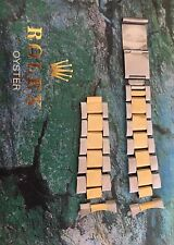 Rolex Submariner Stahl Gold Armband Referenz Nr. 93153
