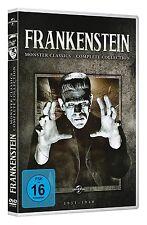 Universal Monsters FRANKENSTEIN 8 Klassiker BORIS KARLOFF Braut SOHN.. DVD Box
