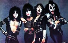 Vinnie Vincent Creatures of the Night Kiss 4x6 Photo Eric Carr Gene Paul