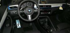 BMW Brand OEM F48 X1 2016 + Aluminium Hexagon Mit Blau Accent Innen Rand Set