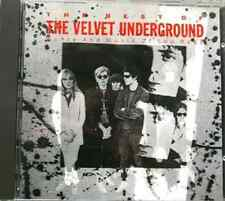 THE BEST OF VELVET UNDERGROUND WORDS AND MUSIC OF LOU REED 15 Track 1989 CD