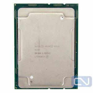 Intel Xeon Gold 6148 SR3B6 2.4GHz 27.5 MB 20 Core LGA 3647 Memory Channel Issue