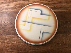 Vintage Art Deco Spritzdekor Cake Plate/Platter