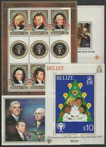 AE141050/ BELIZE - PAINTINGS / COLLECTION 1980 – 2007 MINT MNH