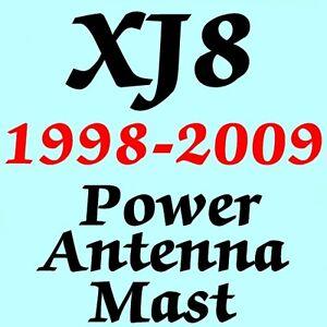 JAGUAR XJ8 POWER ANTENNA MAST 1998-2009 Brand New Stainless Steel + Instructions