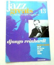 DJANGO REINHARDT JAZZ GREATS THEIR LIVES THEIR MUSIC THEIR INSPIRATION