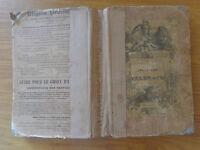 LIBRO LE AVVENTURE DI TELEMACO FENELON 1842 17 x 26 cm circa NUMIS SUBALPINA