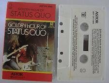 STATUS QUO GOLDEN HOUR OF STATUS QUO AUSTRALIAN CASSETTE TAPE