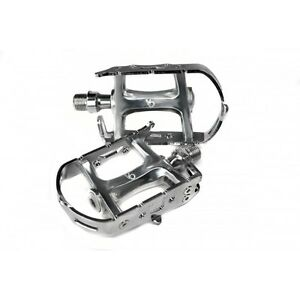 Velo Orange Road Bike Pedals Alloy body and cage weighs only  267g