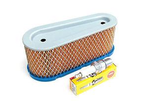 Luftfilter Filter & Zündkerze Tecumseh OHV 110 - 135 10-15 PS